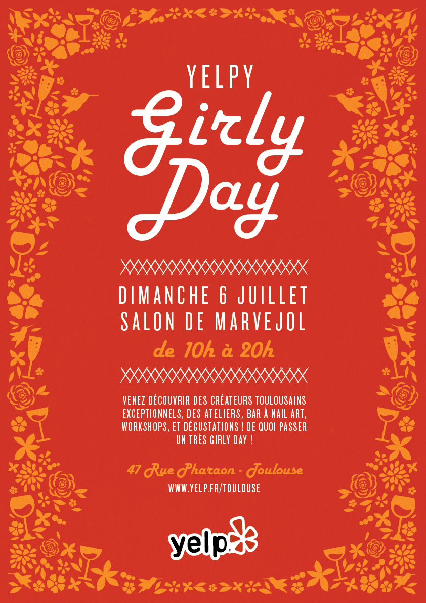 Yelpy Girly Day Toulouse